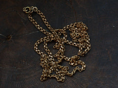 "c1900 Antique Gold 27"" Chain"