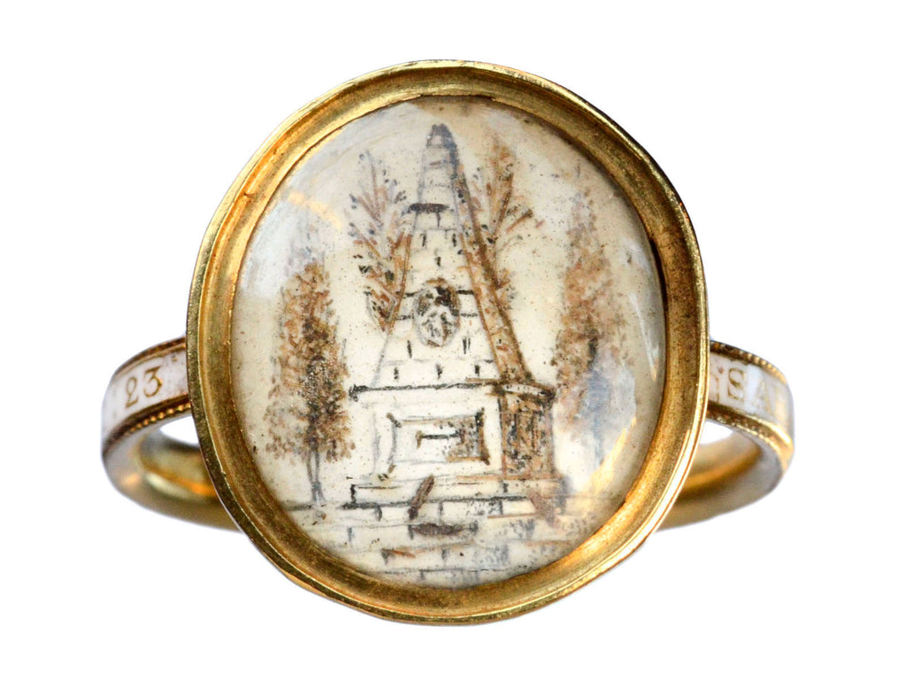 1772 Georgian Mourning Ring