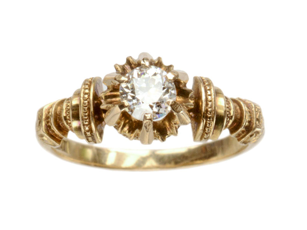 1871 Victorian 0.42ct Ring