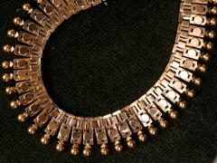 1890s French 18K Collar