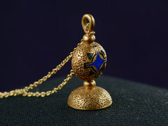 1840s Gold Seal Necklace