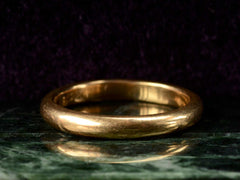 1901 3.3mm Gold Band