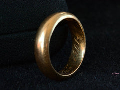 1901 Russian Wedding Band