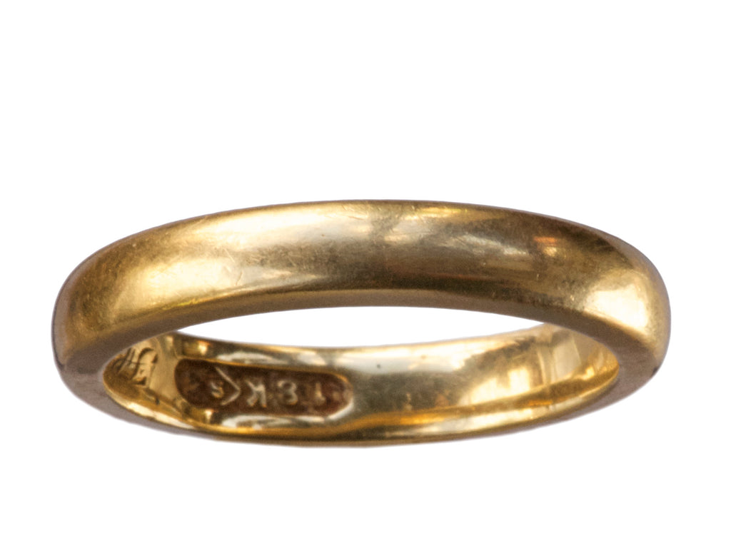 1914 18K Wedding Band
