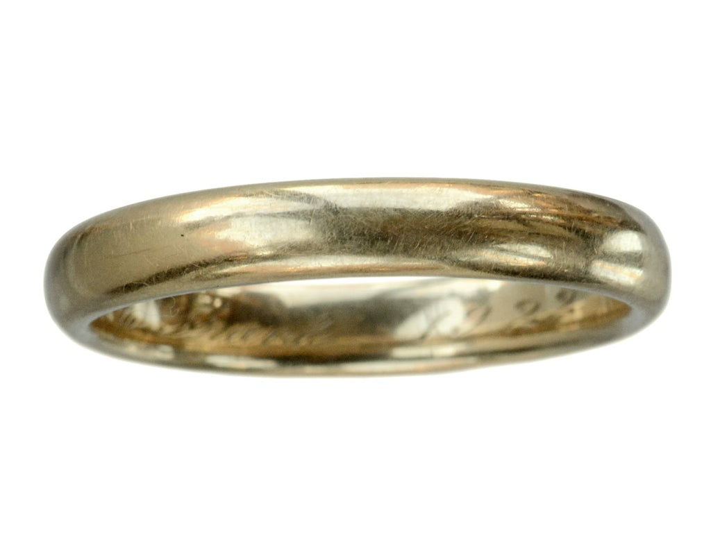 1922 3.7mm 14K Gold Band