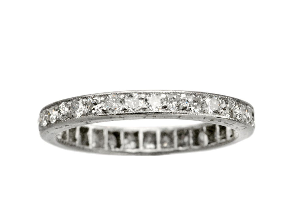 1940 Size 5 Eternity Band