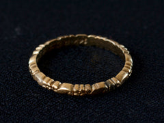 1942 Decorated Gold Band