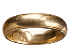 1964 Men's Gold Wedding Band