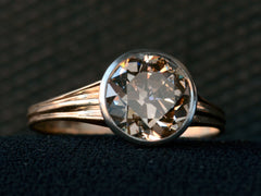 1910s 2.16ct Brown Diamond Ring