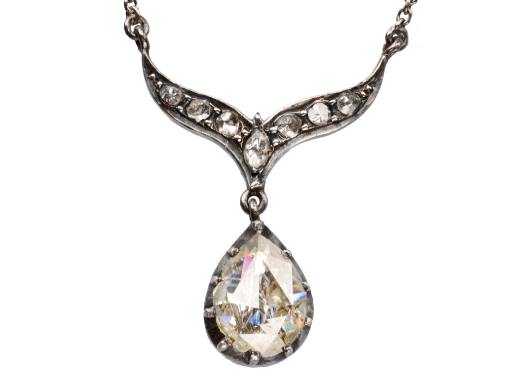 c1780 Georgian Diamond Necklace