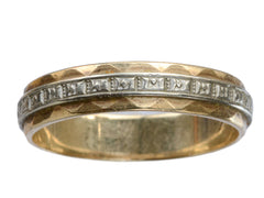 1940-50s Faceted Two Tone Band
