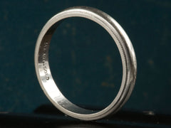 Vintage Men's Wedding Band