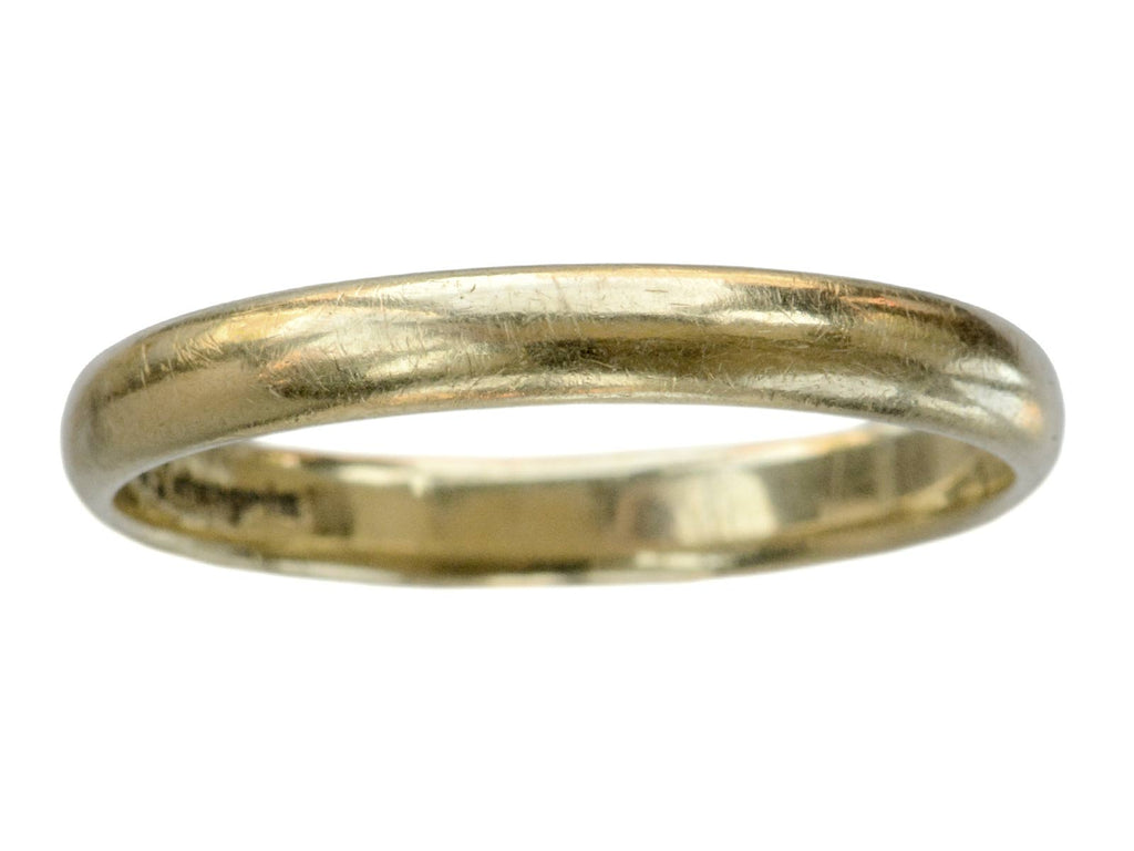 Vintage 3.2mm Wedding Band