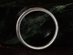 c1950 Striped Platinum Band