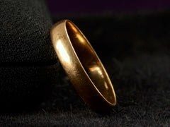 Early 1900s 3.4mm 18K Band