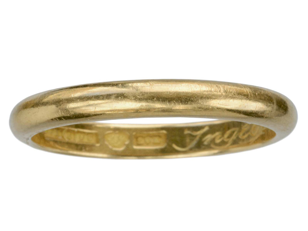 1946 Swedish 20K Gold Band