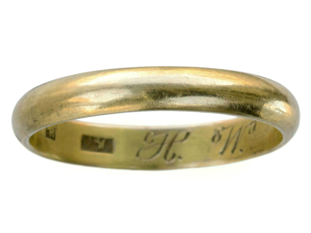 c1900 3.7mm Wedding Band