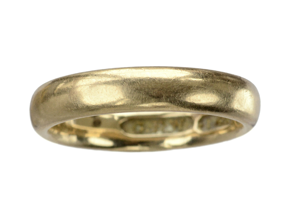 c1900 3.9mm Gold Band