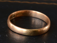 1879 22K Gold Wedding Band