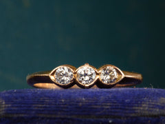 Vintage Three Diamond Ring