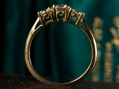 1940s Three Diamond Ring
