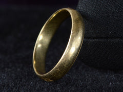 1950s 4.5mm Gold Band