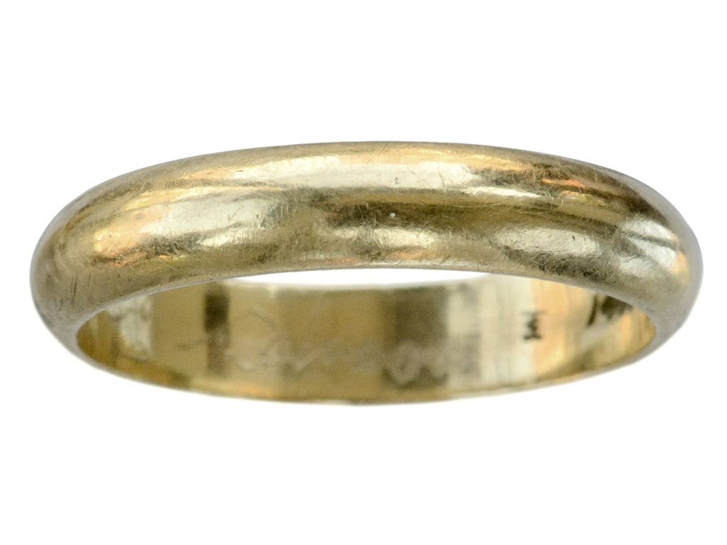 1940s 4.5mm Wedding Band