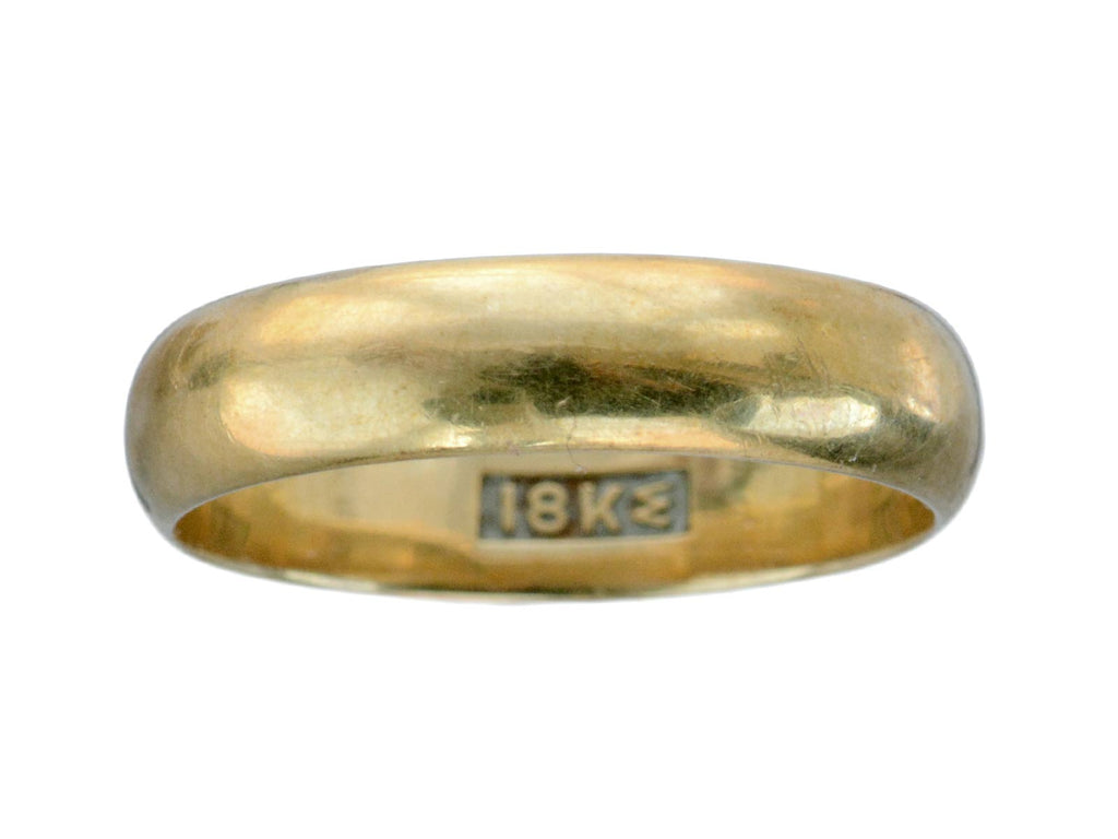 c1900 4.5mm 18K Band