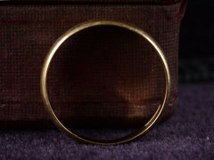c1920 4.6mm Gold Band