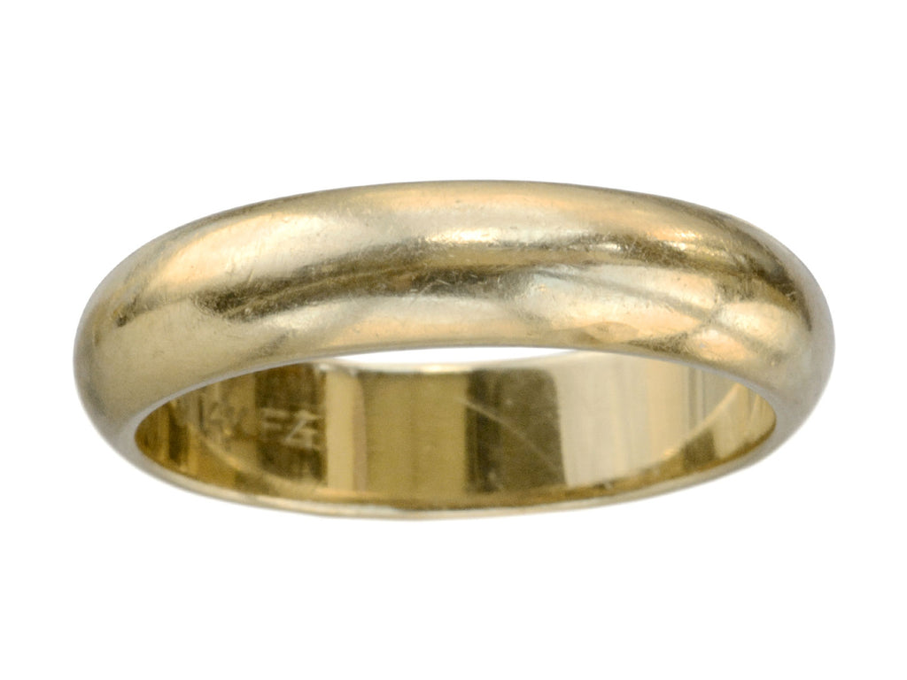 Vintage 4.8mm Wedding Band