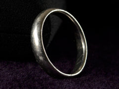 Vintage 4.8mm Men's Platinum Band