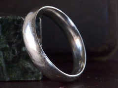 Vintage 4.9mm Platinum Band