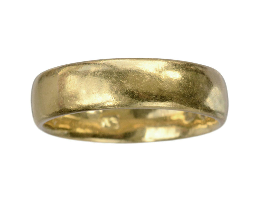 1893 English 22K Gold Band