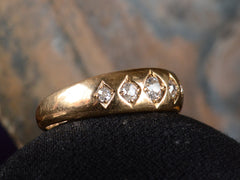 1883 5 Diamond Gypsy Ring