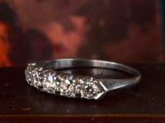1930-40s 5 Diamond Ring