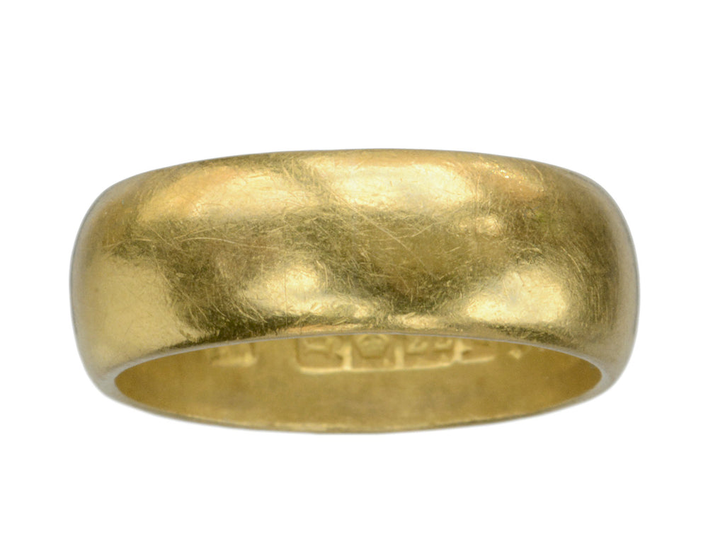 1917 6.7mm 22K Gold Band