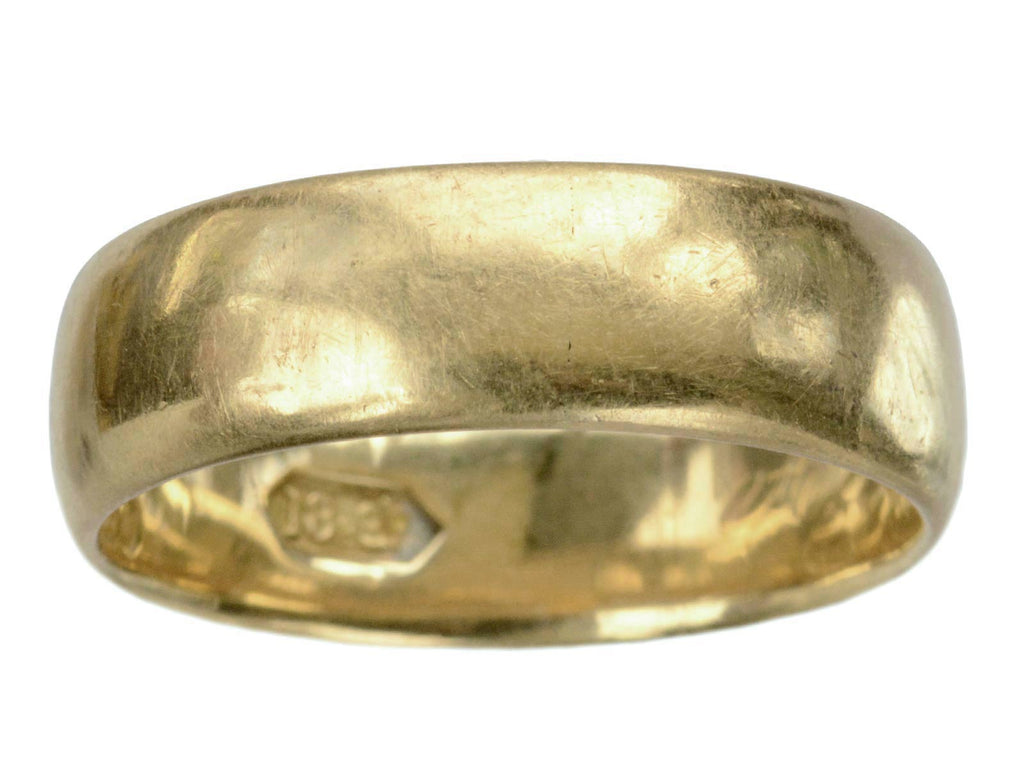 c1900 7.1mm 18K Gold Band
