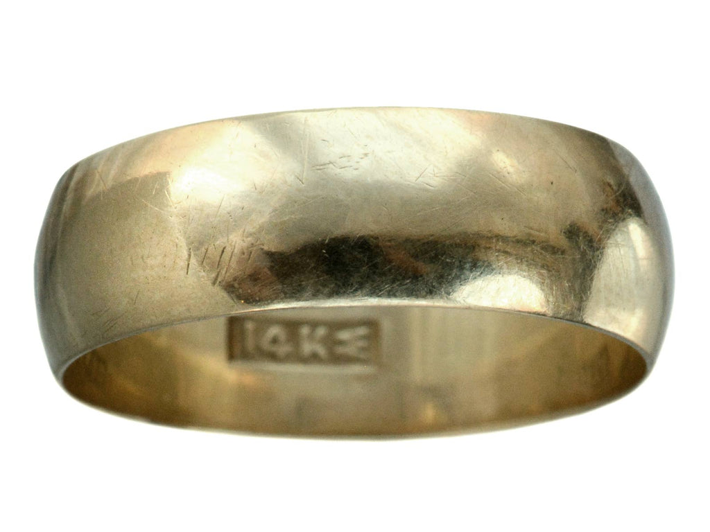 c1900 7.3mm Gold Band