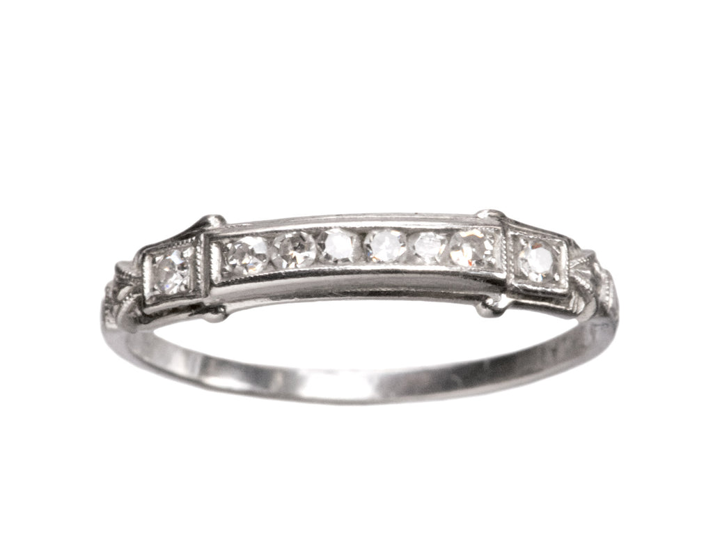 1930s Diamond Platinum Band