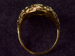 1900s Arts & Crafts Aqua Ring