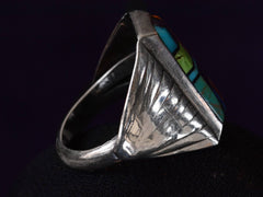 1990s Alvin Yellowhorse Ring
