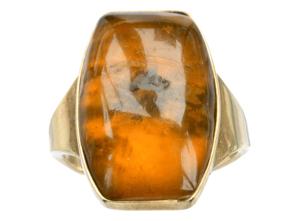 1960s Amber Ring