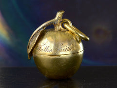 1898 Victorian Apple Locket