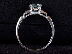 1930s Deco Aquamarine Ring
