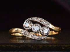 1910s Art Nouveau Diamond Ring