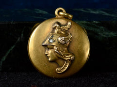c1880 Victorian Athena Locket