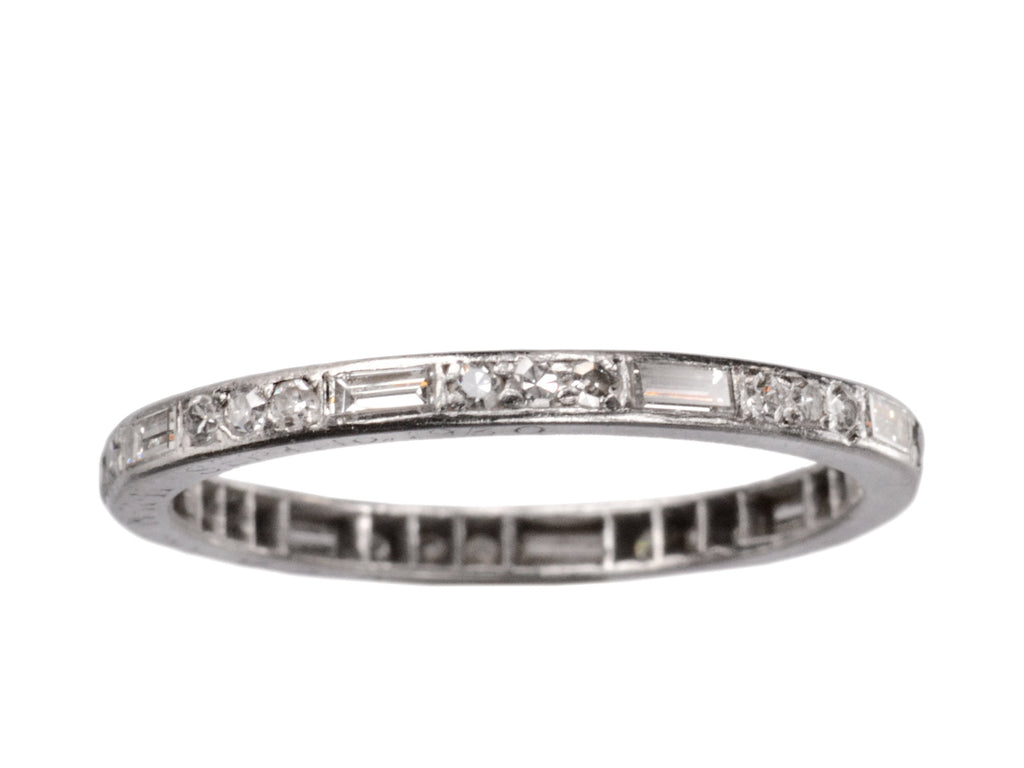 1930 Baguette Eternity Band