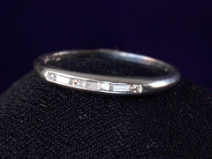 1948 Baguette Diamond Band