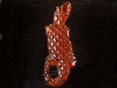 1930s Bakelite Alligator Pin