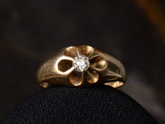 1890s Victorian Belcher Diamond Ring